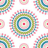 Vintage universal different seamless eastern patterns (tiling). Royalty Free Stock Photography