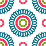 Vintage universal different seamless eastern patterns (tiling). Royalty Free Stock Images