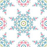 Vintage universal different seamless eastern patterns (tiling). Stock Images