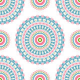 Vintage universal different seamless eastern patterns (tiling). Stock Photos