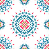 Vintage universal different seamless eastern patterns (tiling). Royalty Free Stock Photos