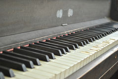 Vintage Upright Piano Stock Image