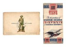 Vintage US Bond Album Stock Photos