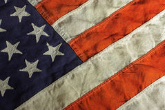 Vintage USA Flag Stock Image