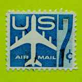Vintage USA postage stamp. A vintage United States 1949/1971 Airmail postal stamp Stock Photo