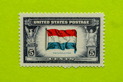 Vintage USA postage stamp stock photo