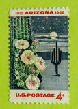 Vintage USA postage stamp. A vintage United States unused postage stamp Stock Image