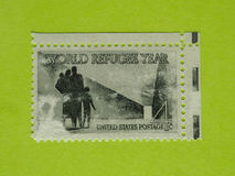 Vintage USA postage stamp Stock Photos