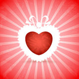 Vintage Valentine background Royalty Free Stock Photos