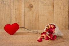 Vintage Valentine Background Image stock