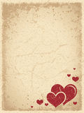 Vintage Valentine's Background Royalty Free Stock Photos