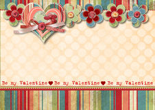 Free Vintage Valentine S Day Card Stock Photos - 28678193