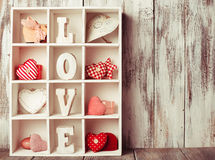 Vintage Valentine Set Royalty Free Stock Image