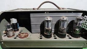 Vintage Valve Amplifier Royalty Free Stock Photo