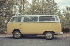 Vintage Van Imagenes de archivo