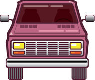 Vintage Van Front Royalty Free Stock Images