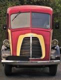 Austin Morris vintage delivery van Stock Image
