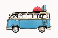 vintage van toy 免版税库存图片