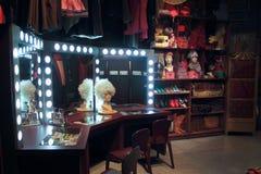 Vintage vanity room. Royalty Free Stock Photo