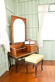 Vintage vanity table Stock Photography