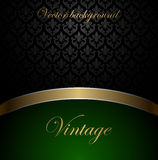 Vintage vector background Royalty Free Stock Photography