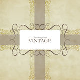 Vintage vector background Stock Photos