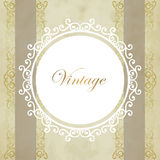 Vintage vector background Stock Image