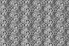 Vintage background retro mechanism clock gears seamless pattern. Vintage vector background retro mechanism clock gears seamless pattern vector illustration