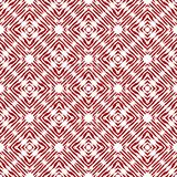 Vintage vector checked seamless pattern with brushed lines in red and white. Texture in ethnic painterly style. Vintage vector checked seamless pattern with royalty free illustration