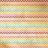 Vintage vector Chevron Pattern Royalty Free Stock Image