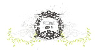 Vintage vector decoration Royalty Free Stock Photography