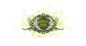Vintage vector decoration Stock Photography