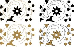 Vintage Vector Decorative Elements and Ornaments.On a white background. vector illustration
