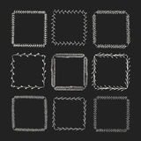 Vintage vector drawing frames to your template. Stock Photography