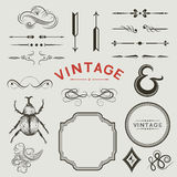 Vintage Vector Elements Stock Photos
