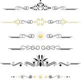 Vintage vector elements Royalty Free Stock Images