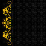Vintage vector floral  background Stock Image