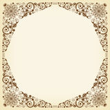 Vintage vector  floral  background Royalty Free Stock Photos