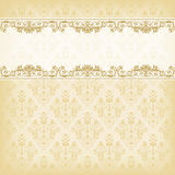Vintage vector  floral  background Royalty Free Stock Images