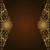 Vintage vector  floral  background Royalty Free Stock Photography
