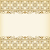 Vintage vector  floral  background Stock Photography
