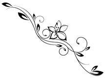 Vintage VEctor Flower Stock Image