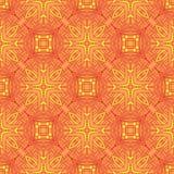 Vintage vector flower pattern background design Stock Photo