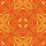 Vintage vector flower pattern background design Stock Photos