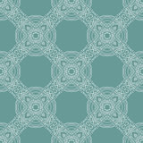 Vintage vector flower pattern background design Royalty Free Stock Photos