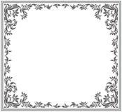 Vintage vector frame Stock Photo