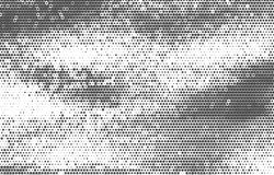 Vintage vector halftone background. Stock Photography