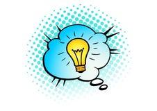 Vintage vector illustration. Text bobble cloud. Colorful comics. Design element for the design of leaflets, cards, envelopes, cove. Rs, flyers sales Stock Photography