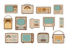 Vintage vector illustrations Stock Images