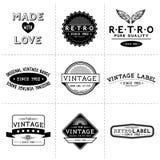 Vintage Vector Labels royalty free illustration